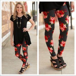🌷Floral bouquet Legging 🏅